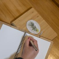Fantail Bamboo Journal