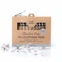 Stainless Steel Pegs, Eco-friendy, Caliwoods