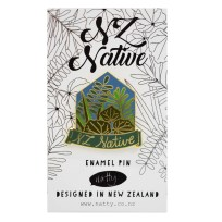 NZ Native Pin