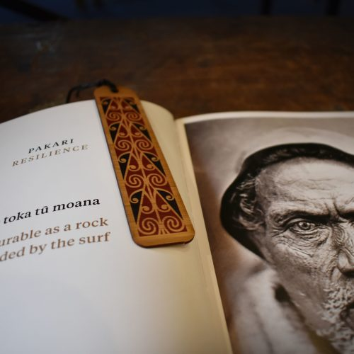 Maori Rafter Pattern Bookmark