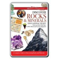 Discover Rocks and Minerals Tin Set