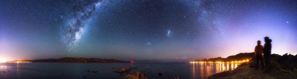 Breaker Bay by Night, Photo Mark Gee