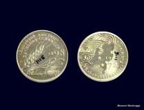 Herdenkungsmunten 100 jaar RABO bank. Bruikleen Gemeente Jacobswoude, 28-12-08