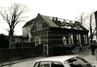 Kerkstraat sloop van het Immanuel Centrum West