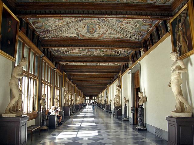 Uffizi. Foto de eblaser