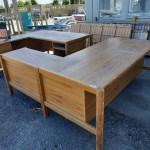 Wood Grain L Shaped Desk 1700 X 2000 Musgroves Ltd