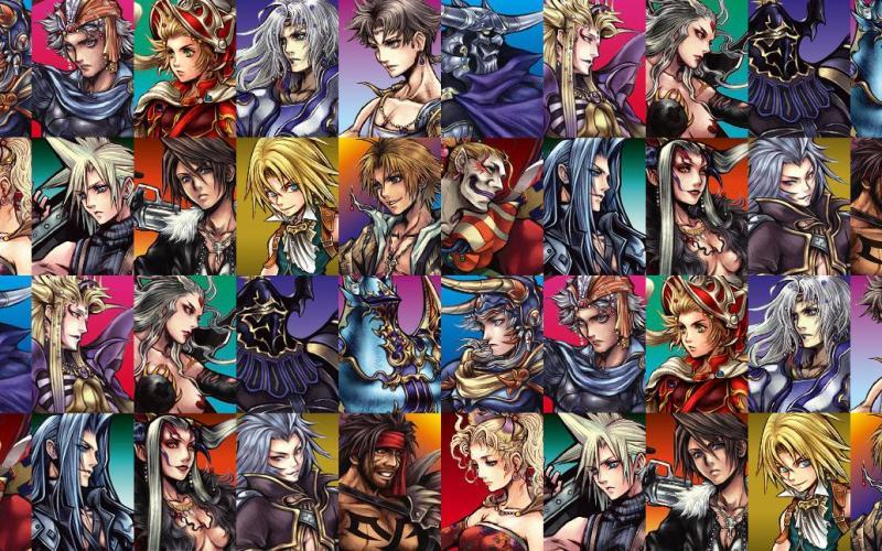 Final Fantasy – Personaggi da ogni dove