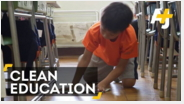 educazione pulizia dojo scuole giappone