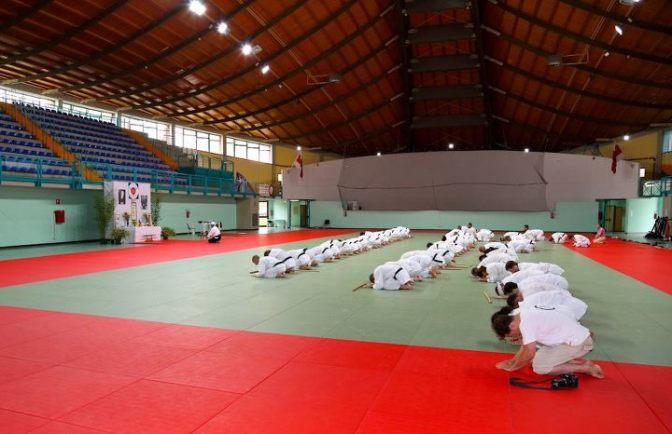 Aikido Seminar Hitohira Saito Sensei - Sacile 2012