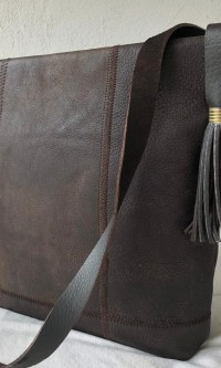 Locally made genuine leather handbags