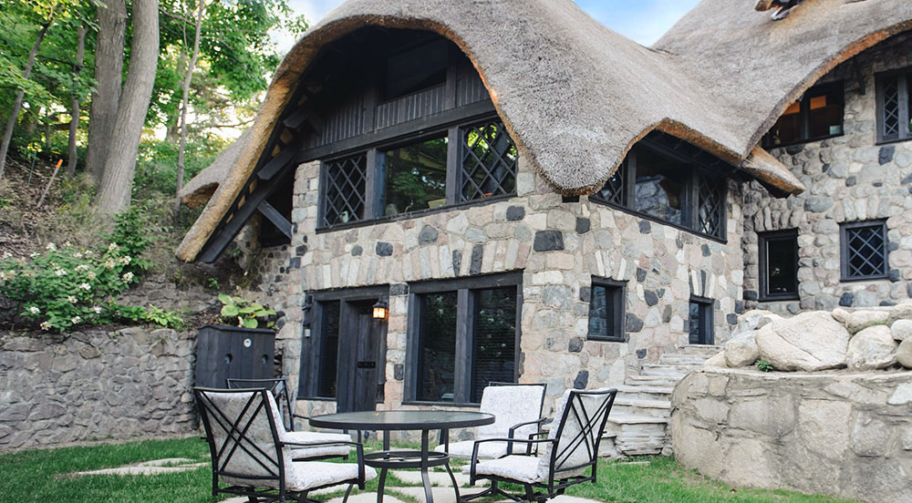 The MUSHROOM HOUSES in Charlevoix MI vacation rentals