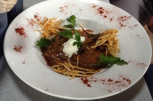 Beefsteak Mushroom Stroganoff
