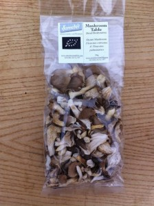 Dried Biodynamic Oyster Mushrooms