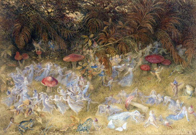 'Triumphal March of the Elf King by Night' by Richard Doyle