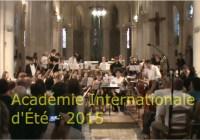 L'Académie 2016 se prépare…