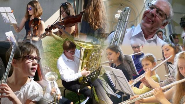Des jeunes et des moins jeunes à l'Académie Internationale d'Été de Musique de Château-Gontier 2017