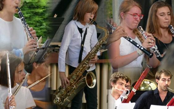 Les bois - Instruments - Flûte, Hautbois, Clarinette, Basson & Saxophone