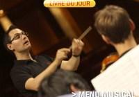 Livre du jour J6 : Menu musical à l'Académie
