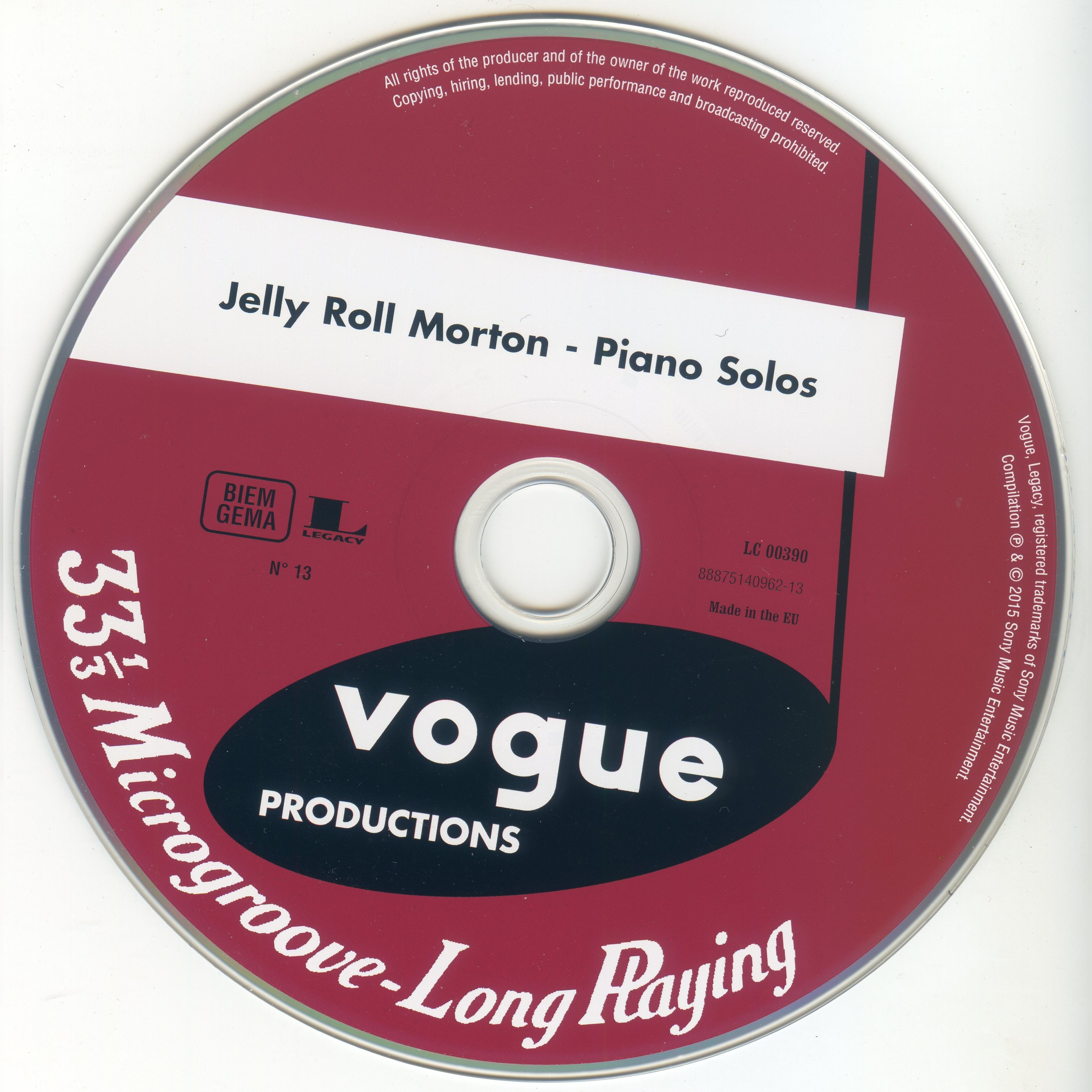 Jazz From America On Disques Vogue Cd13