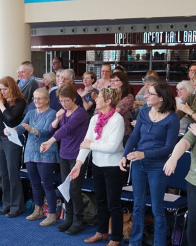 Nottingham Lunchtime Voices: informal singing session