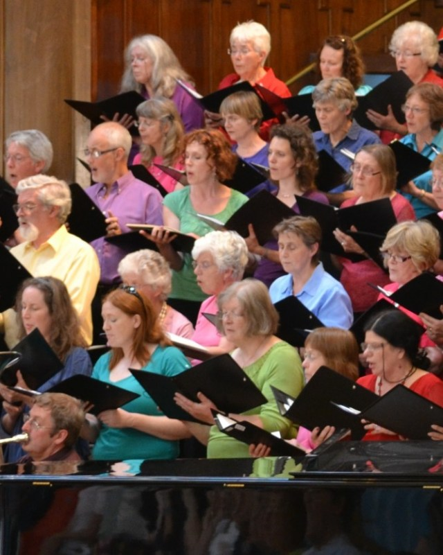 Nottingham Festival Chorus: open access singing and concert weekends