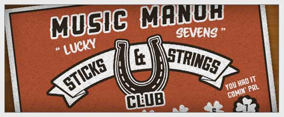 The Lucky Sevens Sticks and Strings Club
