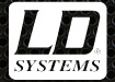 LD Systems makes speakers and mixers. Get them at Music Manor, your pro audio connection