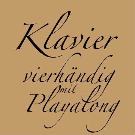 Klavier vierhändig mit Playalong