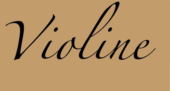Violine Noten