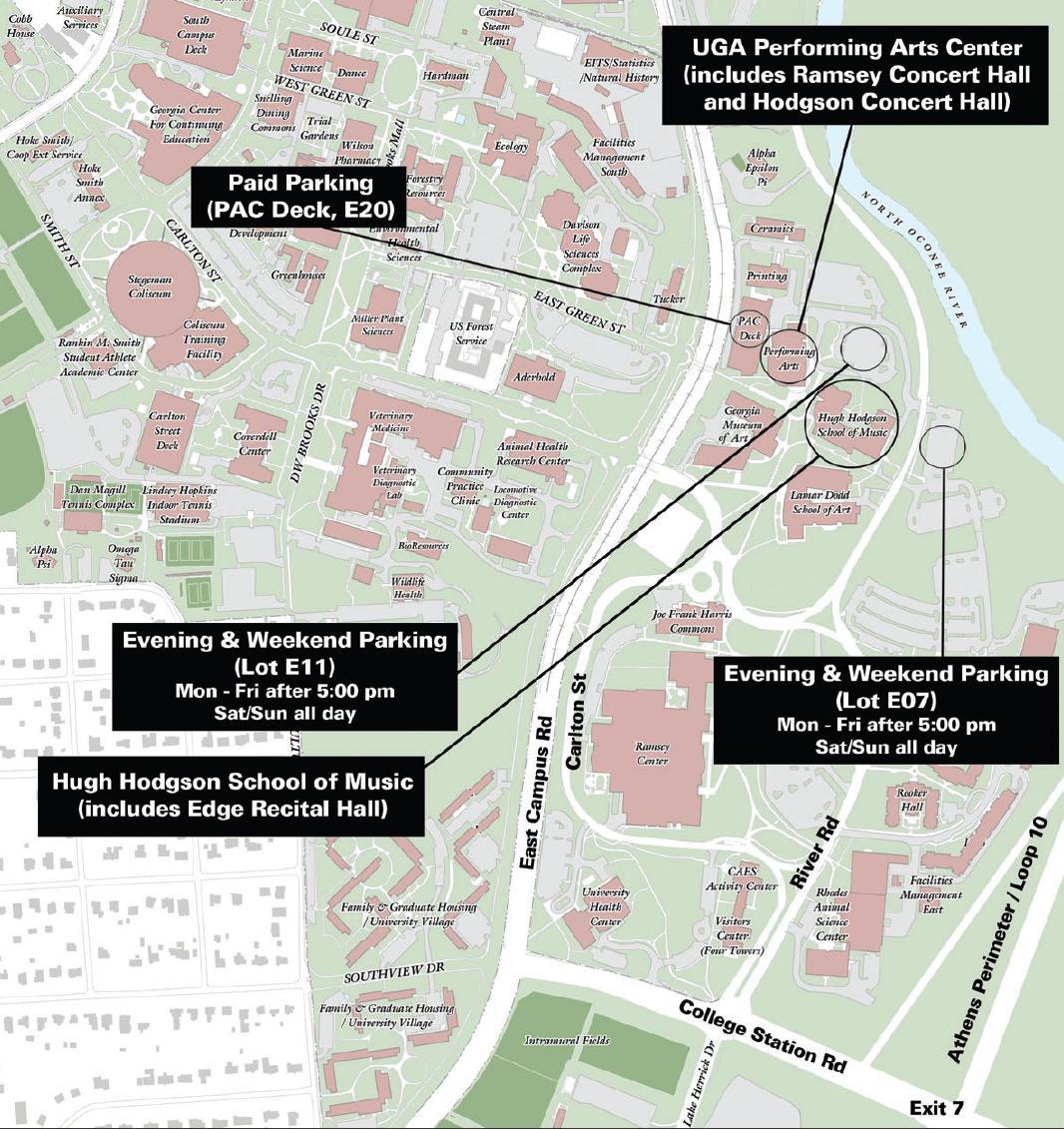 Uga Campus Map Building