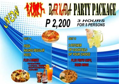 Pasay Branch Promo Barkada Package Set 4 5