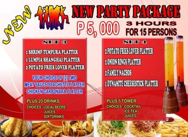 Pasay Branch Promo New Party Package Set 3 4