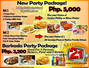 Barkada Party Package