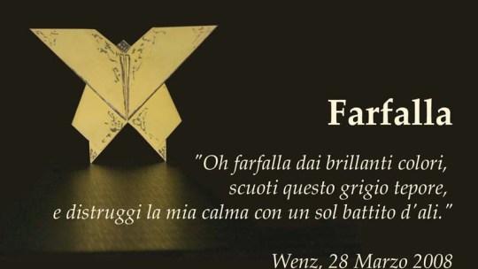 Farfalla (poesia di Enzo Crotti)