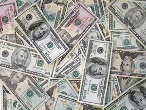Mucchio di dollari