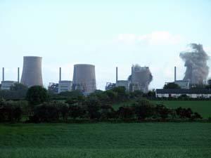 Centrale nucleare in demolizione
