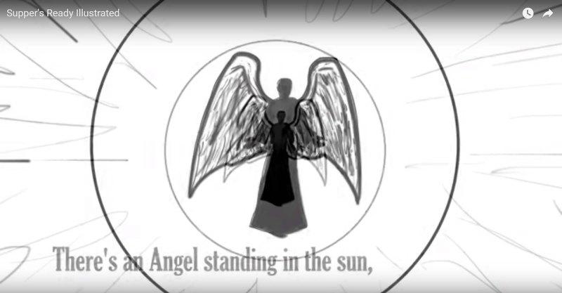 Video illustrato Supper's Ready Genesis