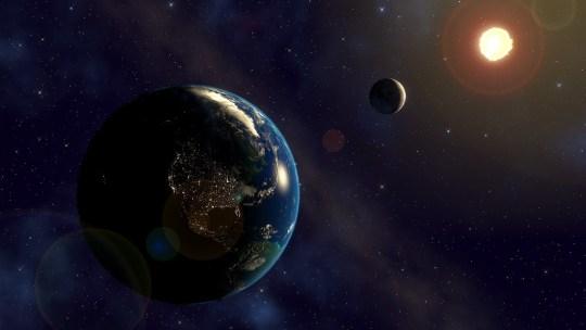 Universo, Sole, Terra, Luna e 432 Hz