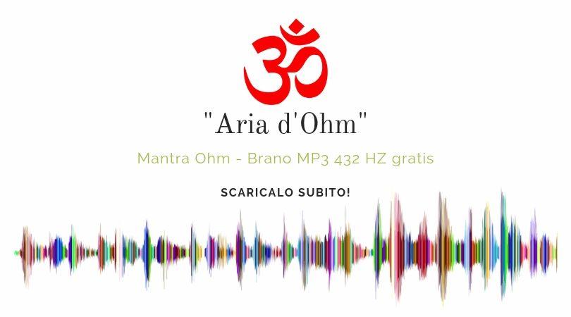 Banner - Aria Ohm - mp3 432 hz gratis