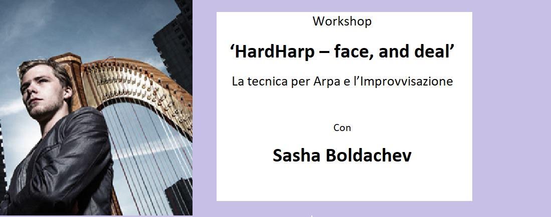Workshop Hardharp face and Deal