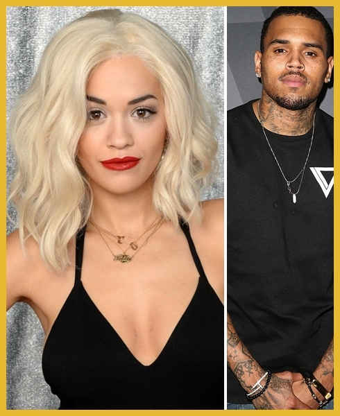 Rita Ora e Chris Brown - Single juntos!
