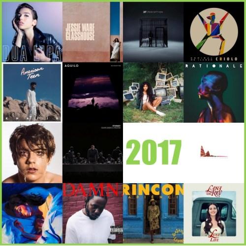 Melhores Discos de 2017