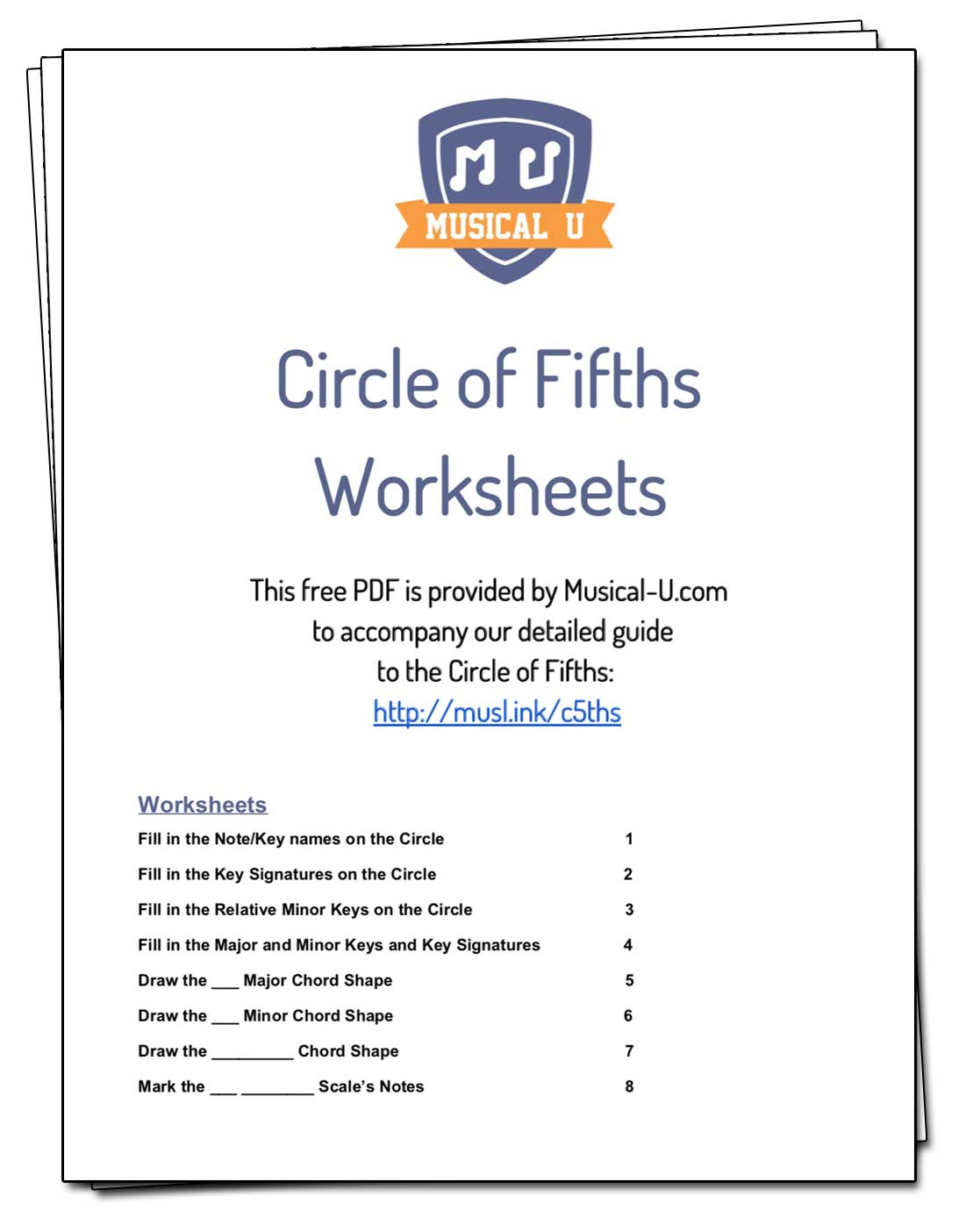 Cof Worksheets Download