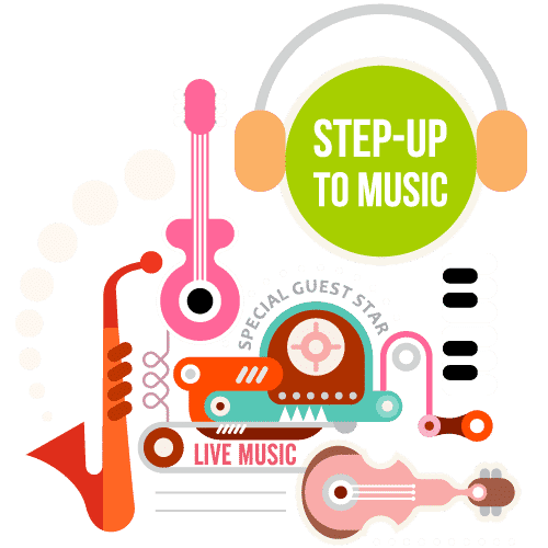 STEP UP TO MUSIC