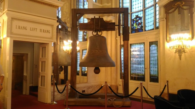 The bell of Notre Dame at Theater des Westens