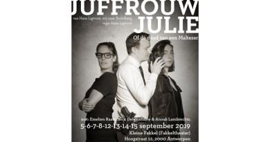 Mémoire Perdue in laatste rechte lijn naar première Juffrouw Julie