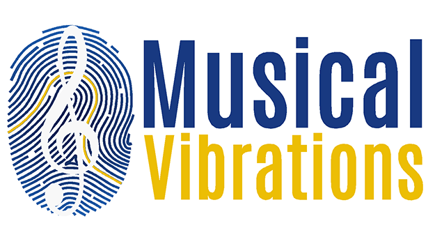 Musical vibrations logo