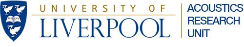 University of Liverpool Acoustics Research Unit Logo