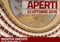 Giornata dei Teatri Aperti  Alla scoperta del mondo nascosto del Teatro dell'opera