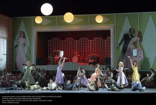 """Teatro La Fenice: """"Die lustige Witwe"""""""